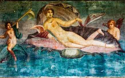 Aphrodite, die aus dem Meeresschaum Geborene, Göttin